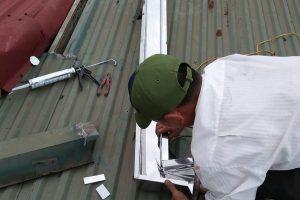 sửa chữa thay thế lắp đặt máng inox,máng tôn chất lượng giá rẻ nhất Hà Nội