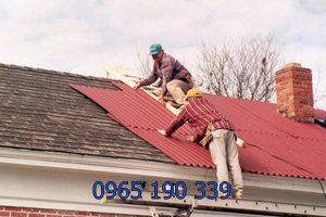 Sửa mái tôn trọn gói tại Hà Nội chất lượng nhanh chóng