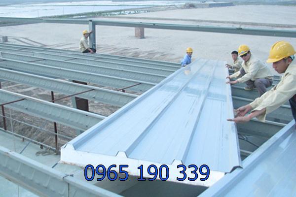 Làm mái tôn chống nóng giúp nhiệt độ không gian mát mẻ