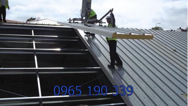 Cách lợp mái tôn nhà xưởng Hà Nội chất lượng
