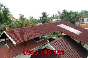 Sửa chữa mái tôn nhanh chóng giá rẻ