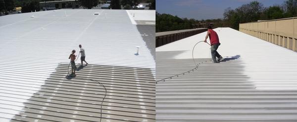 dịch vụ chống nóng mái tôn 2