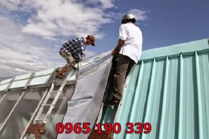 Nhận sửa chữa mái tôn giá rẻ khắc phục nhanh chóng lỗi