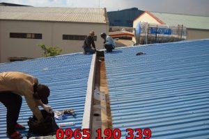 Thi công mái tôn tại Nam Từ Liêm giá tốt đảm bảo chất lượng