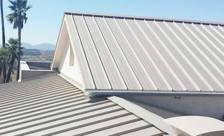 Mái tôn chống nóng phong cách châu Âu