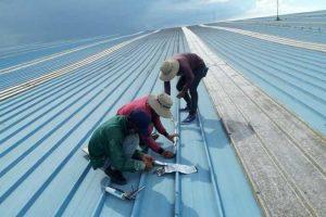 Dịch vụ thi công mái tôn chống thấm nhà uy tín chất lượng cao