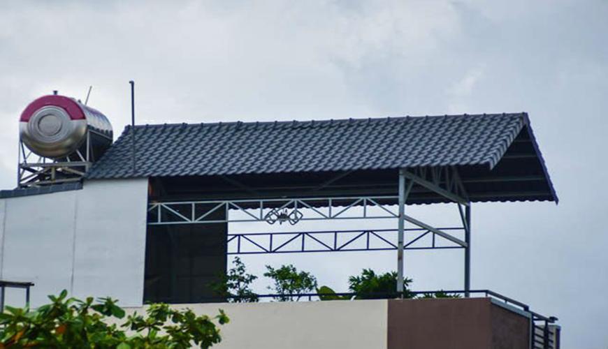 Báo giá mái tôn sân thượng Hà Nội năm 2020