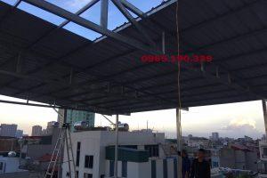 Các bước lợp mái tôn tại Bắc Ninh – Đội ngũ thi công giá rẻ