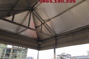 Mái tôn chống nóng tại quận Ba Đình thành phố Hà Nội