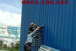 Thi công mái tôn khu công nghiệp Yên Phong tỉnh Bắc Ninh