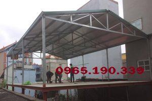 Dịch vụ lắp đặt mái tôn nhà xưởng uy tín giá rẻ nhiều ưu đãi