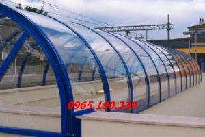 Tấm nhựa lợp mái che gia tăng khả năng chống tia UV cách nhiệt