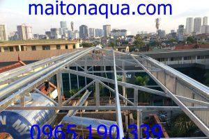 Làm mái tôn lạnh chuyên nghiệp tại Hà Nội