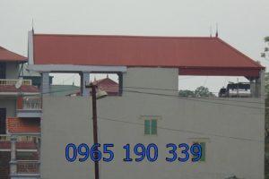 Dịch vụ lợp mái tôn sân thượng chất lượng