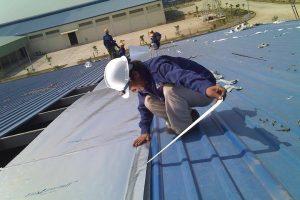 Báo giá thi công mái tôn hòa phát 1 lớp tại Hà Nội
