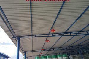 Thi công làm mái tôn ở tại Hà Nội – Đội ngũ thi công maitonaqua