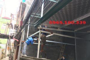 Chống nóng mái tôn cho nhà dân dụng tại Hà Nội và miền Bắc