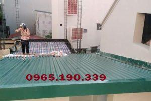 Thay mái tôn tại khu công nghiệp Sài Đồng – Hà Nội