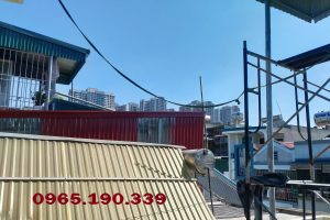 Sửa nhà lợp mái tôn tại khu công nghiệp Phú Nghĩa – Hà Nội