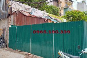 Lắp đặt vách tôn tại khu công nghiệp Sài Đồng thành phố Hà Nội