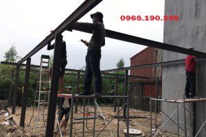 Sửa mái tôn tại khu công nghiệp Thường Tín tại Hà Nội