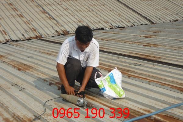 sửa mái tôn tại hà nội 1