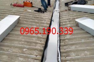 Máng thu nước inox 304 tại KCN Phố Nối A chất lượng tốt