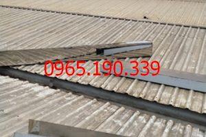 Giá thi công máng thu nước mái tôn tại cụm CN Nam Tiến Xuân