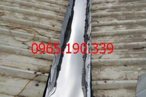 Thi công máng nước mái tôn inox tại KCN An Khánh trọn gói, giá rẻ