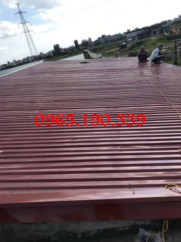 Mái tôn đẹp giá rẻ chất lượng số 1 Hà Nội