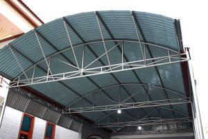 Bắn mái tôn sân thượng chất lượng bền đẹp với thời gian